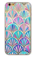 Чехол-накладка на Apple iPhone 5/5S, пластик, symmetry 7