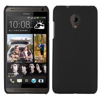 Чехол-накладка на HTC Desire 700 пластик, 0,5мм, черный