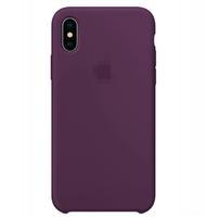 Чехол-накладка на Apple iPhone 11, original design, микрофибра, с лого, фиолетовый