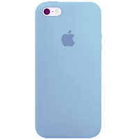 Чехол-накладка на Apple iPhone 11 Pro Max, original design, микрофибра, с лого, голубой