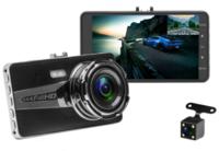 """Видеорегистратор с камерой заднего вида Podofo PDM04, FHD, 4.0"""", HDMI"""
