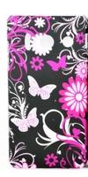 Чехол-накладка для Huawei Ascend Y300 пластик, butterfly