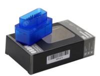Диагностический сканер ELM327 OBD2 v.1.5, Bluetooth, 9112, синий, 25K80, Box