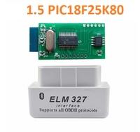 Диагностический сканер ELM327 OBD2 v.1.5, Bluetooth, SOBD, белый, 25K80, bpack