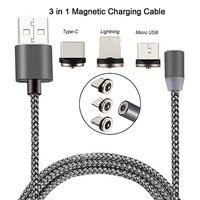 Набор магнитных кабелей Орбита OT-SMU01, microUSB, TypeC, lightning