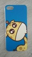 Чехол-накладка на Apple iPhone 5/5S, пластик, mix 1, animals 4