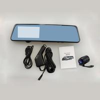 """Видеорегистратор зеркало с камерой заднего вида L-501, FHD, 4.3"""""""