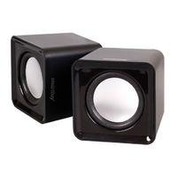 Активные колонки 2.0, Smart Buy MINI (SBA-2800), 2x2W, белый