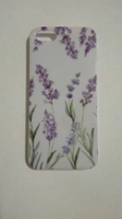 Чехол-накладка на Apple iPhone 5/5S, пластик, flowers 3