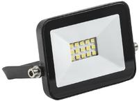 Прожектор светодиодный, IEK СДО 06-10, 10Вт, 800Лм, 6500К, IP65, 105*88*27, черный