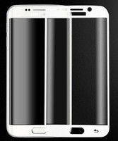 Защитное стекло Samsung Galaxy S8 на дисплей, 3D, белый