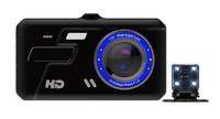 """Видеорегистратор с камерой заднего вида JIELI, FHD, IPS 4.0"""" сенсор"""