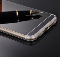 Чехол-накладка на Apple iPhone 4/4S, силикон, зеркальный, черный