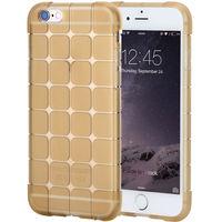 Чехол-накладка на Apple iPhone 6/6S, силикон, quad, золотистый