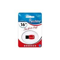 Память USB 2.0 Flash, 16GB, Smart Buy Cobra Black/Red