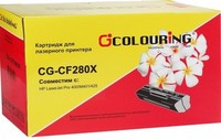 Картридж лазерный Colouring CG-CF280X для HP CP4525, M401a, M425, 6.9К