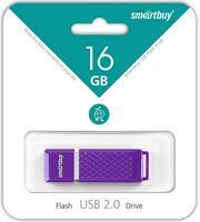 Память USB 2.0 Flash, 16GB, Smart Buy Quartz series Violet