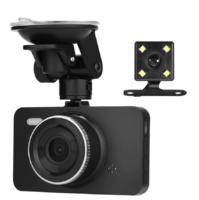 """Видеорегистратор с камерой заднего вида Denicer AM01, FHD, 4.0"""", HDMI"""