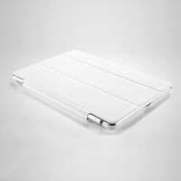 Чехол Smart-cover для Apple Ipad Air, полиуретан, белый
