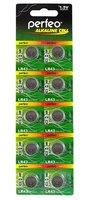 Элемент питания G12, Perfeo, AG12 LR43 386 386A CX186 SR43SW LR43 LR43W