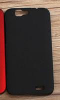 Чехол-накладка для Huawei Ascend G7 пластик, черный