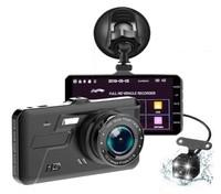 """Видеорегистратор с камерой заднего вида TDS-CAR05, FHD, IPS 4.0"""" сенсор"""