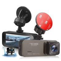 """Видеорегистратор с камерой заднего вида TDS TS-CAR44, FHD, TFT 3.2"""""""