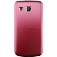 Чехол-накладка на Samsung Trend 3 (G3502) пластик, красный