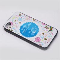 Чехол-накладка на Apple iPhone 6/6S, пластик, Merry Christmas