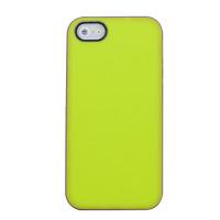 Чехол-накладка на Apple iPhone 5/5S, силикон, матовый, зеленый
