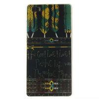 Чехол-накладка для Huawei Ascend P8 lite силикон, painted 1