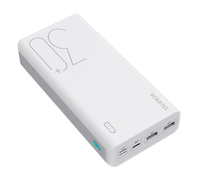 Портативный аккумулятор 30000mAh, Romoss Sense 8P, 2xUSB(mUSB, Lighthing, TypeC), QC3.0