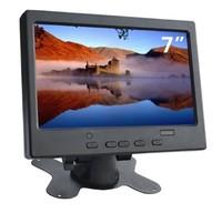 """Монитор JOHNWILL, 7.0"""", 1024*600, 12В, кронштейн, RCA, HDMI, VGA, звук"""