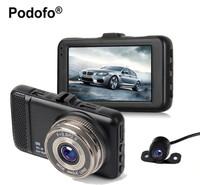 """Видеорегистратор с камерой заднего вида Podofo PDM01, FHD, 3.0"""", HDMI"""