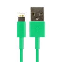 Кабель для iPhone 8pin, Smartbuy iK-512c, зеленый, 1м