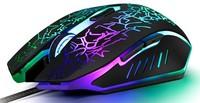 Мышь проводная, игровая, Орбита OT-PCM48, оптическая, 6кн., 3200dpi, подсветка