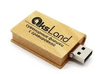 Память USB 2.0 Flash, 32GB, BiNFUL, дерево, wood №9, wood