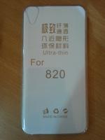 Чехол-накладка на HTC Desire 820 силикон, ультратонкий, прозрачный