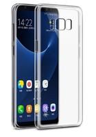 Чехол-накладка на Samsung J6 Plus (J610) (2018) силикон, ультратонкий, прозрачный