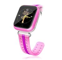 Смарт-часы Q750, детские, Sim, LCD, GPRS, Wi-Fi, GPS, розовый