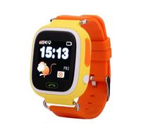 Смарт-часы Q90, детские, Sim, LCD, GPRS, Wi-Fi, GPS, желтый