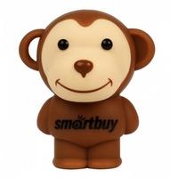 Память USB 2.0 Flash, SmartBuy, Wild series Monkey, 8 Gb