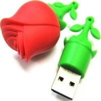 Память USB 2.0 Flash, SmartBuy, Wild series Rose, 8 Gb
