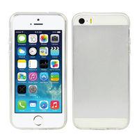 Чехол-накладка на Apple iPhone 5/5S, силикон, ультратонкий, прозрачный