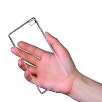 Чехол-накладка для Huawei Ascend P8 lite силикон, прозрачный