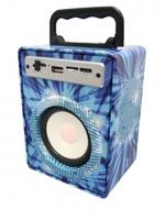 Портативная колонка, Орбита KTS-883, Bluetooth, USB, FM, AUX, TF, синий