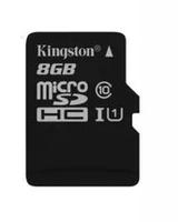 Карта памяти MicroSDHC 8GB Kingston, Class 10 (без SD-адаптера) OEM