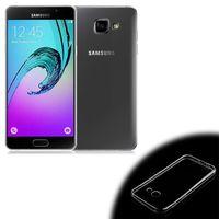Чехол-накладка на Samsung A5 (A520) (2017) силикон, ультратонкий, прозрачный