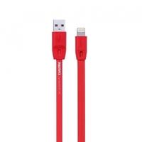 Кабель для iPhone 8pin, Remax Full Speed 5-010, 1м, красный