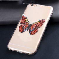 Чехол-накладка LG G3 s (D724) силикон, ультратонкий, бабочка
